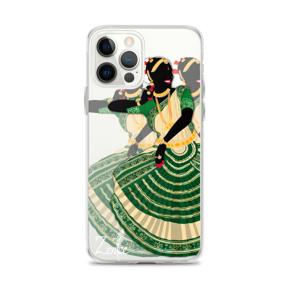 Dancing Queen: Bharatanatyam - iPhone Case