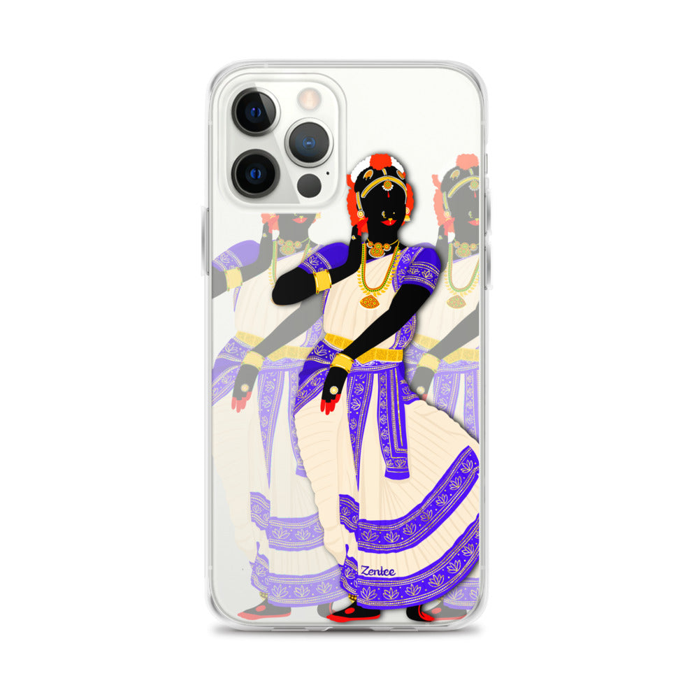 Dancing Queen: Kuchipudi - iPhone Case