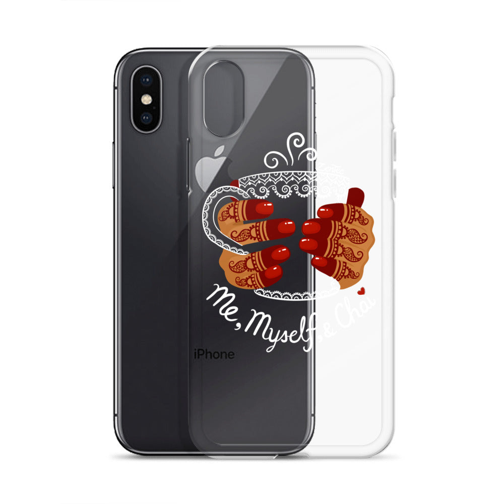Me, Myself, & Chai - iPhone Case