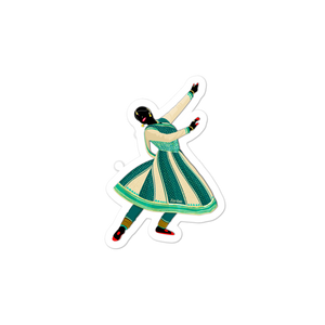 Dancing Queen: Kathak - Bubble-free stickers
