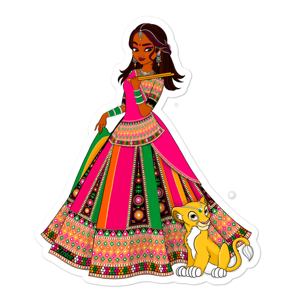 Payal & Ladoo - Bubble-free stickers