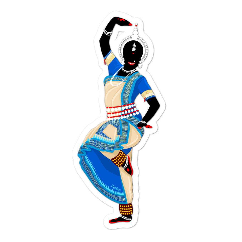 Dancing Queen: Odissi - Bubble-free stickers