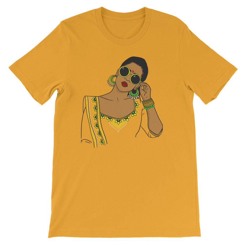 Brown 'n' Boujee - Short-Sleeve Unisex T-Shirt
