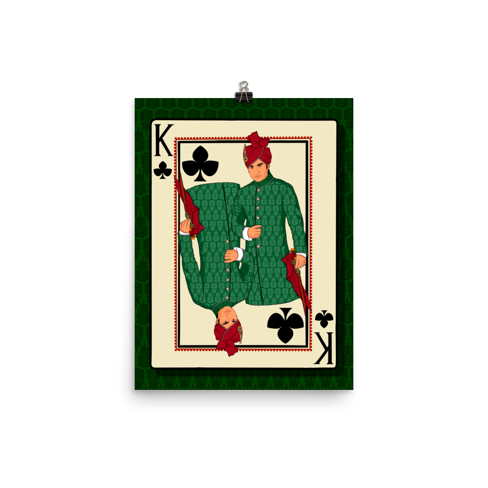 King of Clubs - Poster