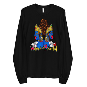 Devi Series: Women Are Powerful - Long sleeve t-shirt