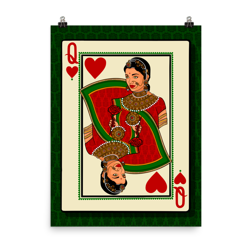 Queen of Hearts - Poster