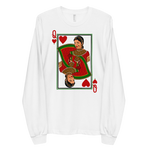 Queen of Hearts - Long sleeve t-shirt