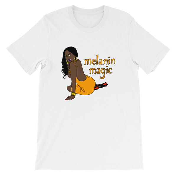 Melanin Magic - Short-Sleeve Unisex T-Shirt