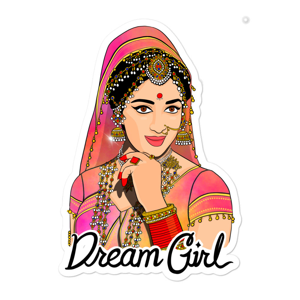Dream Girl - Bubble-free stickers