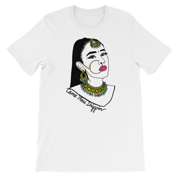 Came Thru Drippin' - Short-Sleeve Unisex T-Shirt