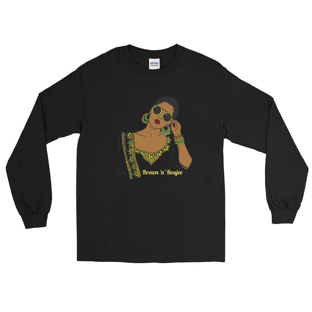 Brown 'n' Boujee - Long Sleeve T-Shirt