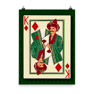 King of Diamonds - Poster