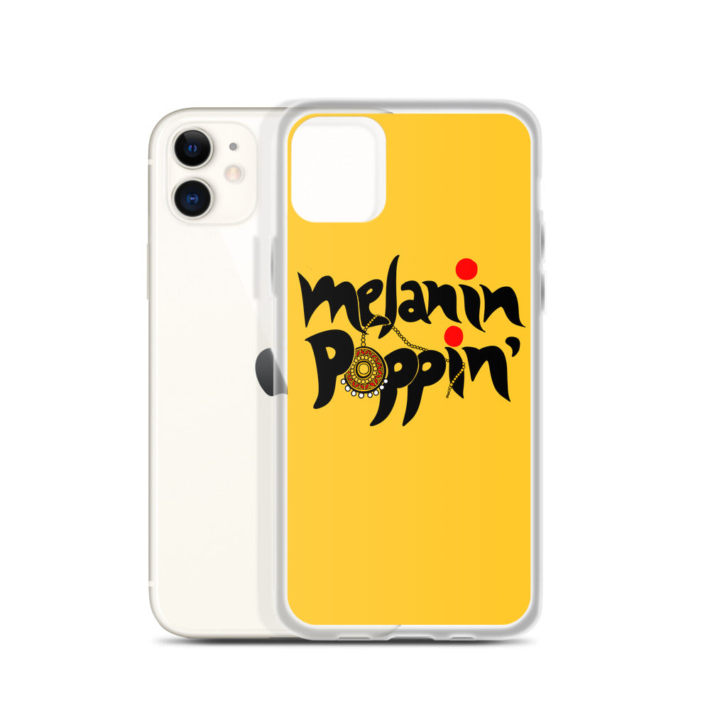 Melanin Poppin' - iPhone Case