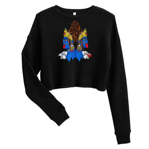 Women Are Powerful - Crop Sweatshirt