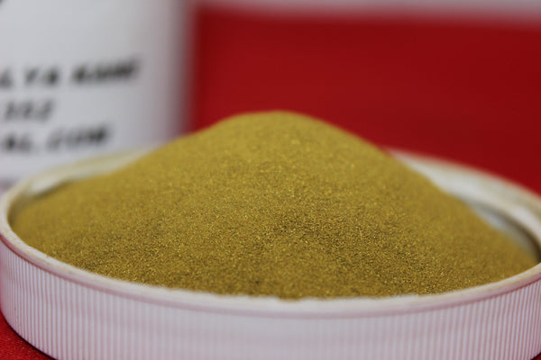 1LB Brass Metal Powder Ultra Fine Mesh -325  CAS Number: 63338-02-3