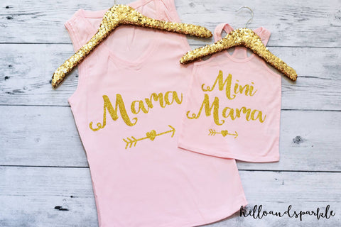 Mama of the Birthday Girl Tank