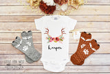 Personalized Baby Gift, Newborn Take Home Outfit, Boho Baby Clothes