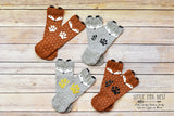 Fox Socks, Fox Leg Warmers, Fox Baby Shower Gift