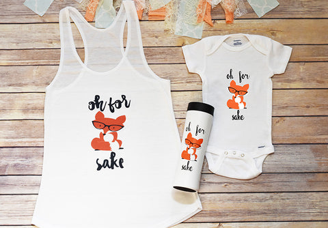 Mama Bear and Baby Bear Shirt Set