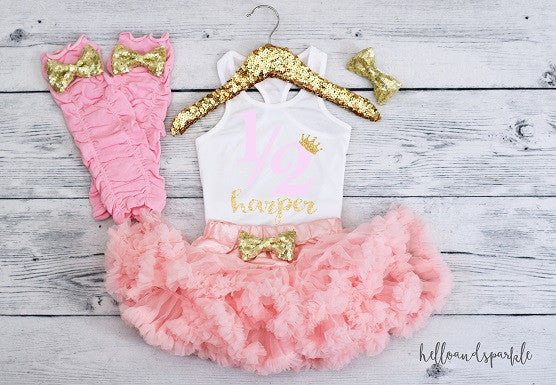 Baby Girl Half Birthday Outfit