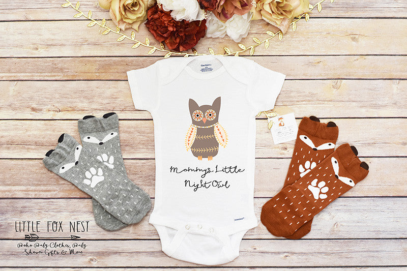 Mommys Little Night Owl Shirt
