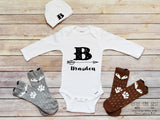 Personalized Take Home Outfit, Baby Boy Clothes