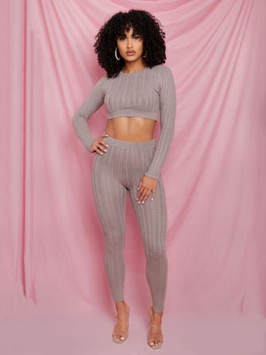 Khloe Knit Set