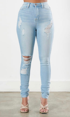 Emma Light Wash Denim