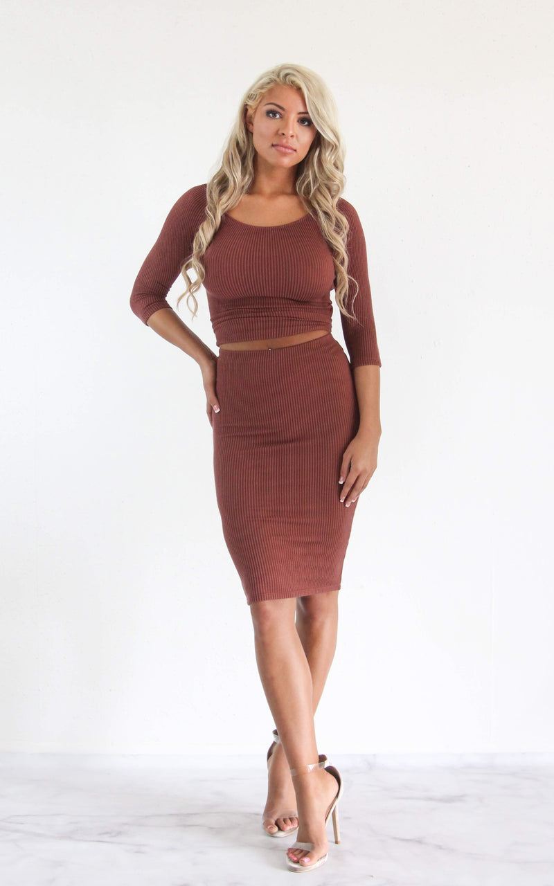 Keep It Simple Skirt Set