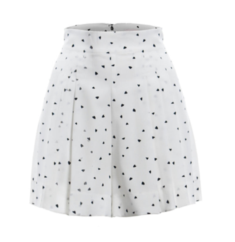 Heart Polka Dot Short