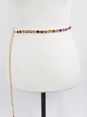Gemstone Chain Belt