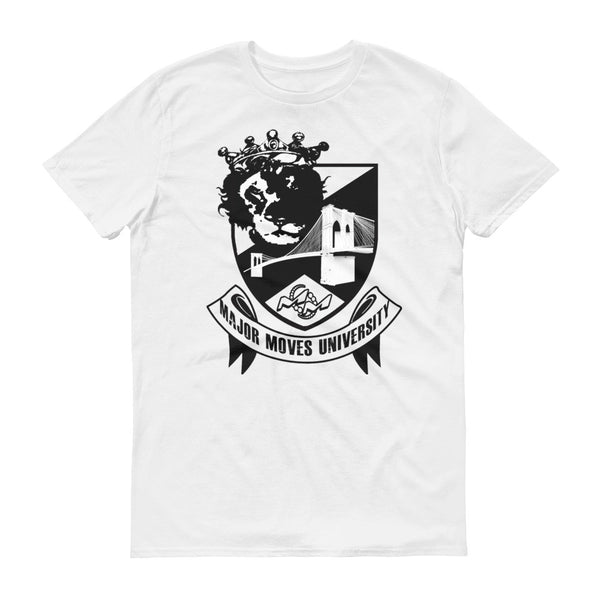 Major Moves University short sleeve t-shirt
