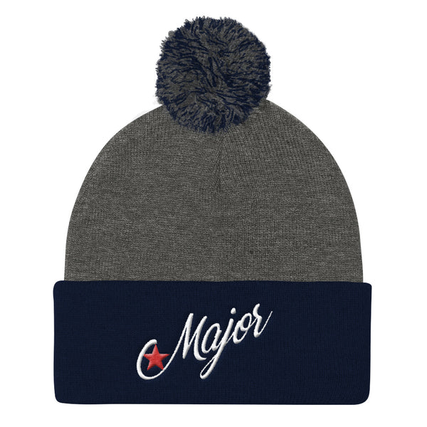 Major Moves Pom Pom Knit Cap
