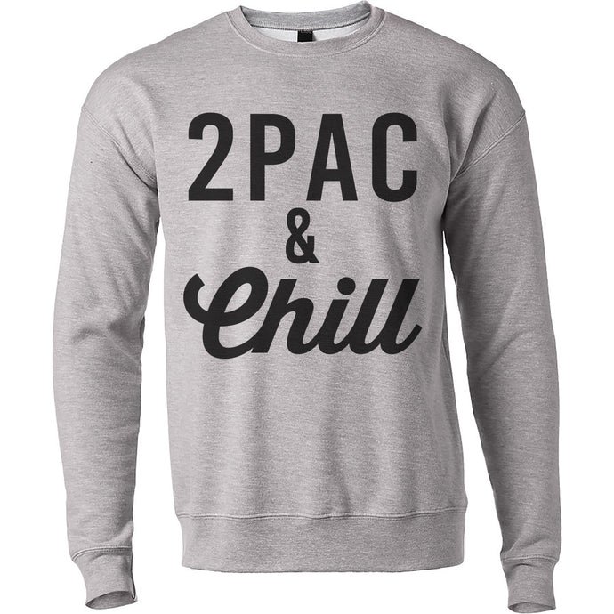 2pac & Chill Unisex Sweatshirt - Wake Slay Repeat