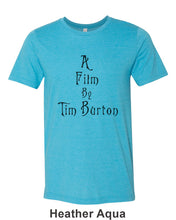 Load image into Gallery viewer, A Film By Tim Burton Unisex Short Sleeve T Shirt - Wake Slay Repeat