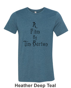 A Film By Tim Burton Unisex Short Sleeve T Shirt - Wake Slay Repeat