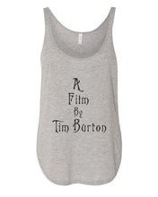 Load image into Gallery viewer, A Film By Tim Burton Flowy Side Slit Tank Top - Wake Slay Repeat