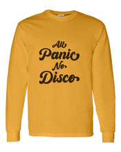 Load image into Gallery viewer, All Panic No Disco Unisex Long Sleeve T Shirt - Wake Slay Repeat