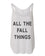 All The Fall Things Flowy Side Slit Tank Top