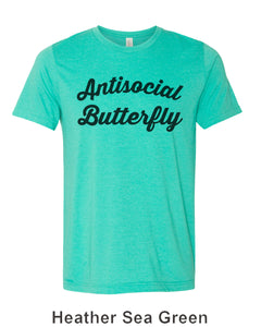 Antisocial Butterfly Unisex Short Sleeve T Shirt - Wake Slay Repeat