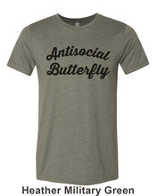 Load image into Gallery viewer, Antisocial Butterfly Unisex Short Sleeve T Shirt - Wake Slay Repeat