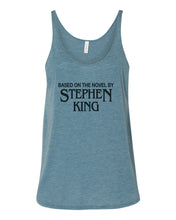 Load image into Gallery viewer, Based On The Novel By Stephen King Slouchy Tank - Wake Slay Repeat