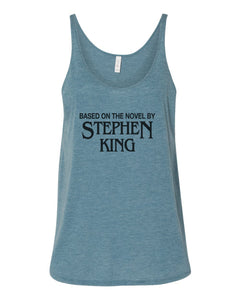 Based On The Novel By Stephen King Slouchy Tank - Wake Slay Repeat
