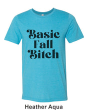 Load image into Gallery viewer, Basic Fall Bitch Unisex Short Sleeve T Shirt - Wake Slay Repeat