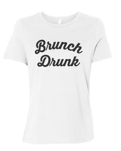 Load image into Gallery viewer, Brunch Drunk Relaxed Women's T Shirt - Wake Slay Repeat