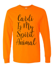 Load image into Gallery viewer, Cardi B Is My Spirit Animal Unisex Long Sleeve T Shirt - Wake Slay Repeat
