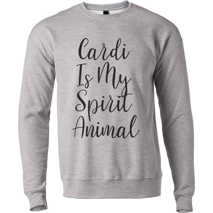 Cardi B Is My Spirit Animal Unisex Sweatshirt - Wake Slay Repeat