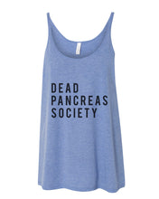 Load image into Gallery viewer, Dead Pancreas Society Slouchy Tank - Wake Slay Repeat