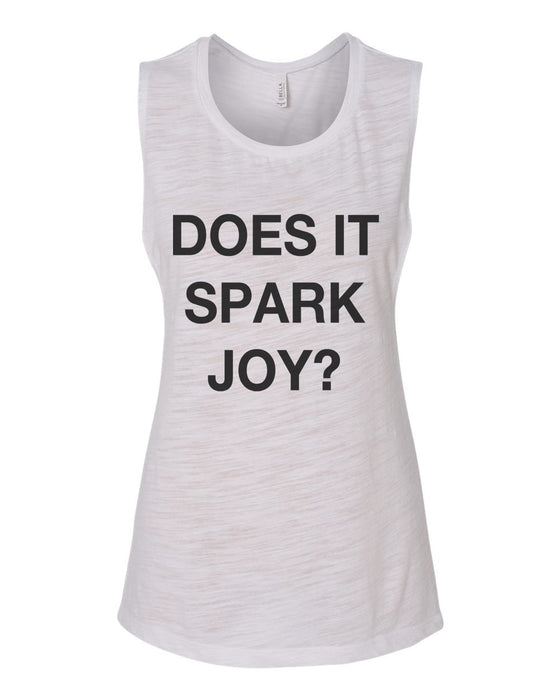 Does Is Spark Joy Flowy Scoop Muscle Tank