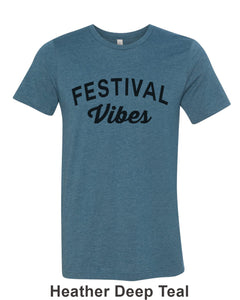 Festival Vibes Unisex Short Sleeve T Shirt - Wake Slay Repeat
